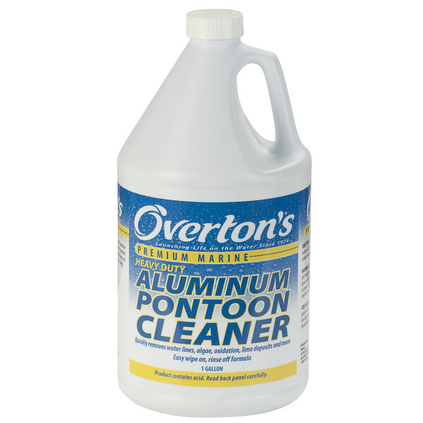 Overton's Heavy-Duty Aluminum Pontoon Cleaner, 1 Gallon