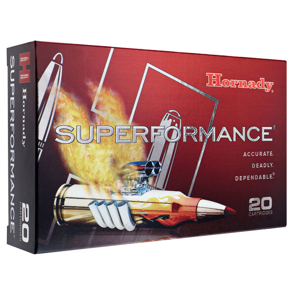 Hornady Superformance SST Ammo, 7mm Rem Mag., 139 Gr.