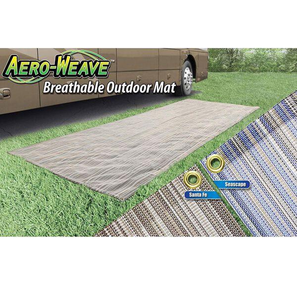 Prest-O-Fit Aero-Weave Breathable Outdoor Mat, 7.5' x 20', Santa Fe