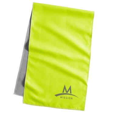 Mission Original Cooling Towel, Hi-Vis Green