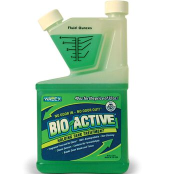 Bio-Active Holding Tank Treatment Deodorizer and Waste Digester, 40 oz
