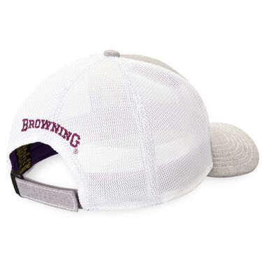 Browning Women's Nadia Cap, Gray/White