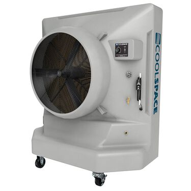 """Cool-Space Avalanche Variable Speed, Direct Drive Portable Evaporative Cooler, 36"""""""