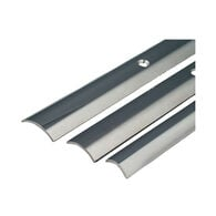 """Stainless Steel Hollow Back Rub Rail, 3/4"""" x 12'"""