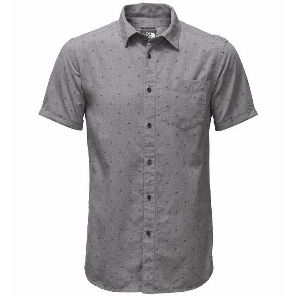 The North Face Men's Bay Trail Jacquard Short-Sleeve Shirt - Tent Print
