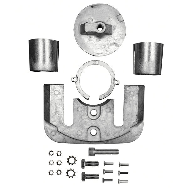 Sierra Aluminum Anode Kit For Bravo I Engine, Sierra Part #18-6159A