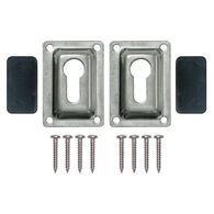 Dockmate Extra Flush Mount Set for Removable Telescoping Pontoon Boat Ladders