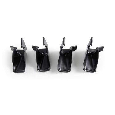 RV Gutter Extensions, Black