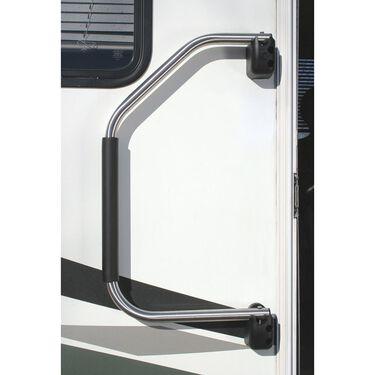 Lend-A-Hand RV Hand Rail, Sparkling Silver