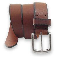 "American Endurance 1.5"" Leather Belt with Cut-Edge Finish"