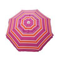 7 ft Beach Umbrella Mango Rose with Travel Bag