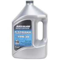 Quicksilver 4-Stroke SAE 10W-30 Outboard Oil, 1 Gallon