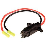 Sierra 10-Gauge Trolling Motor Plug And Socket