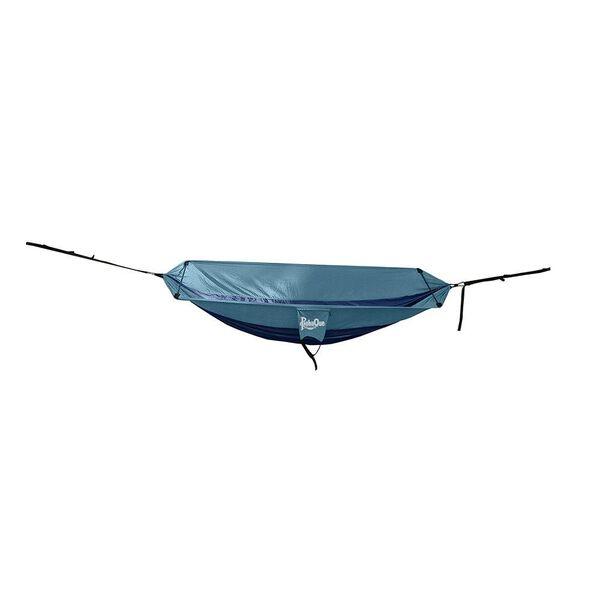 PahaQue Single Hammock, Navy/Light Blue