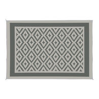 Reversible RV Patio Mat, Diamond Motif