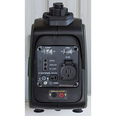 Sportsman 1000 Surge Watts Gasoline Portable Inverter Generator with Parallel Connection