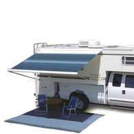 Carefree Campout Bagstyle Awning, Ocean Blue, 11' 6""