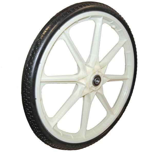 "Replacement Dock Cart Wheel Black 19"" Diameter"