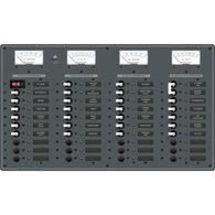 Blue Sea AC Main/DC Main Toggle Circuit Breaker Panel (120V AC)