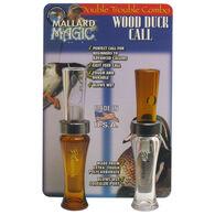 Buck Gardner Mallard Magic & Wood Duck Call Double Trouble Combo