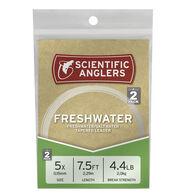 Scientific Anglers 7-1/2' Nylon Freshwater/Saltwater Leaders, 2-Pack