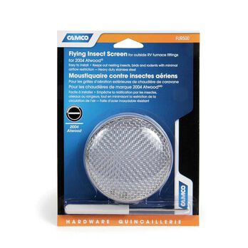 Flying Insect Screen for Furnace Vent, Atwood/Hydroflame with no access door