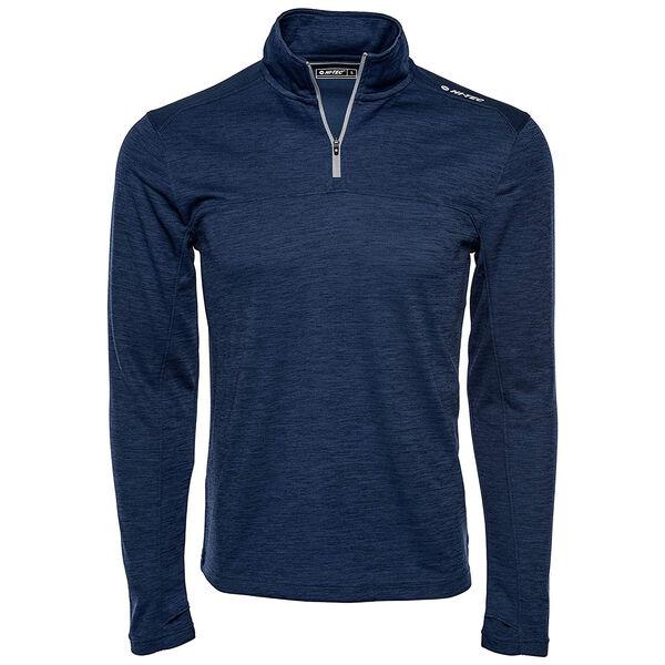 Hi-Tec Men's Phantom Space-Dye Half-Zip Pullover