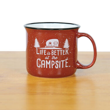 Life is Better at the Campsite Mug