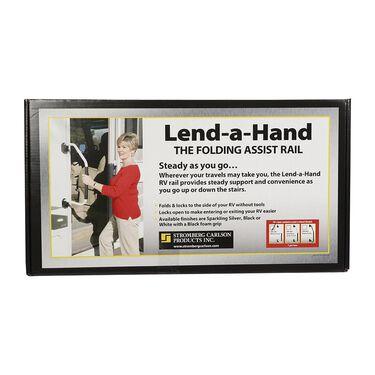 Lend-A-Hand RV Hand Rail - Polar White