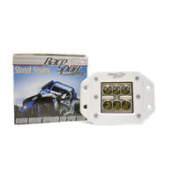 "Race Sport Street Series High-Power 3"" 18W Square LED Spotlight, White"