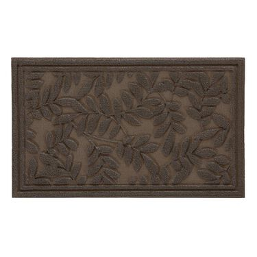 """Leaves Impression Rubber Mats, 18"""" x 30"""""""