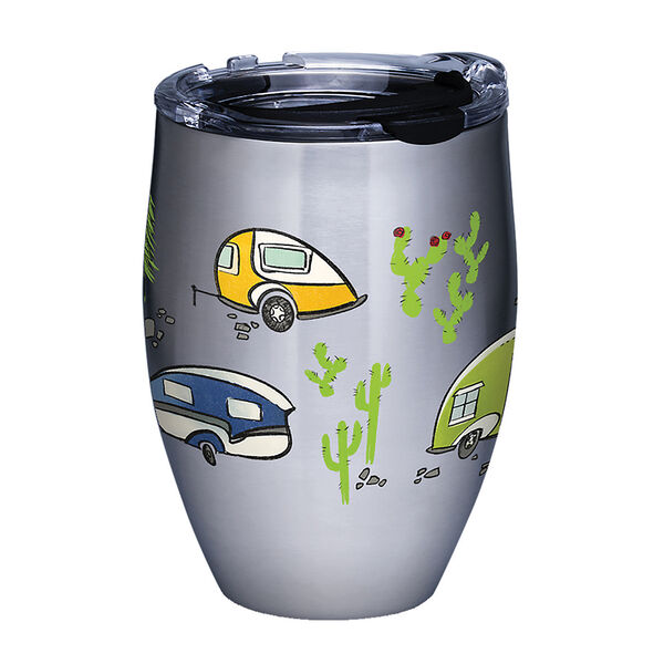 Tervis® Retro Camping Stainless Steel Tumbler, 12 oz.