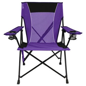 Dual Lock Chair, Purple