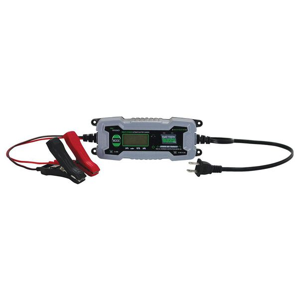 Extreme Max Battery Buddy PRO Water Resistant Battery Charger/Maintainer, 6V/12V