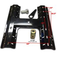 5th Wheel Rail Plate for B&W Gooseneck Hitches