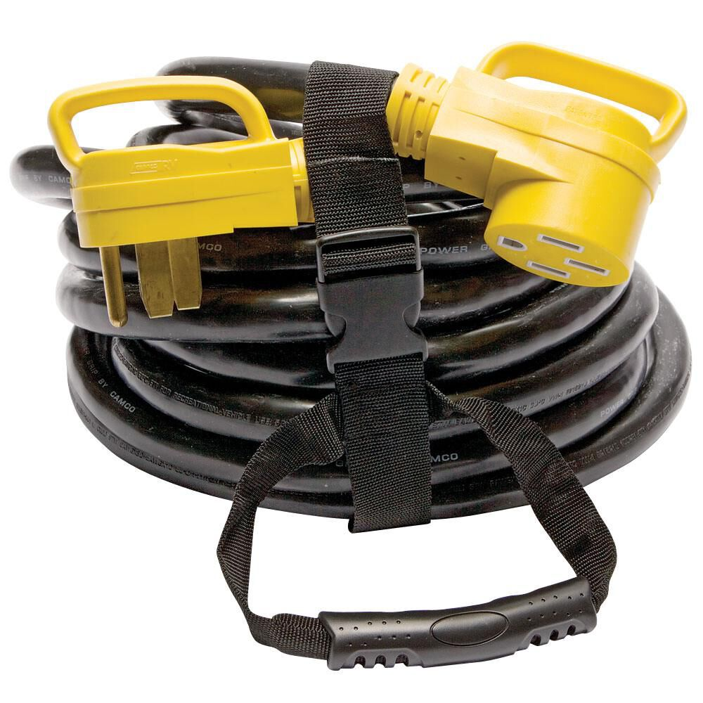 Camco Power Grip Heavy Duty Extension Cord 30 Ft 50 Amp Camping World