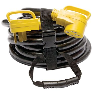 Camco Power Grip Heavy-duty Extension Cord, 30 ft. 50 Amp