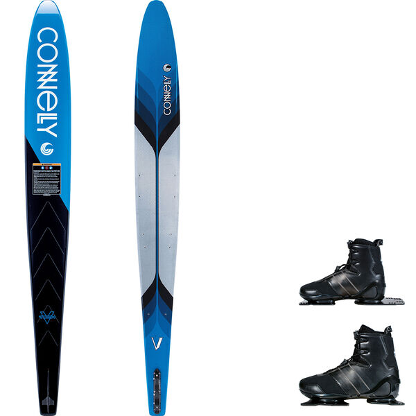 Connelly V Slalom Waterski With Double Sync Bindings