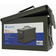 Fortress 50-Caliber Steel Ammo Can