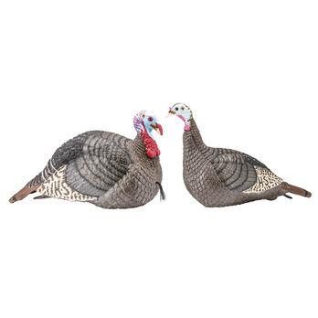 H.S. Strut Strut-Lite Jake and Hen Turkey Decoy Combo