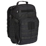 5.11 Tactical RUSH12 Backpack, Luxury Black