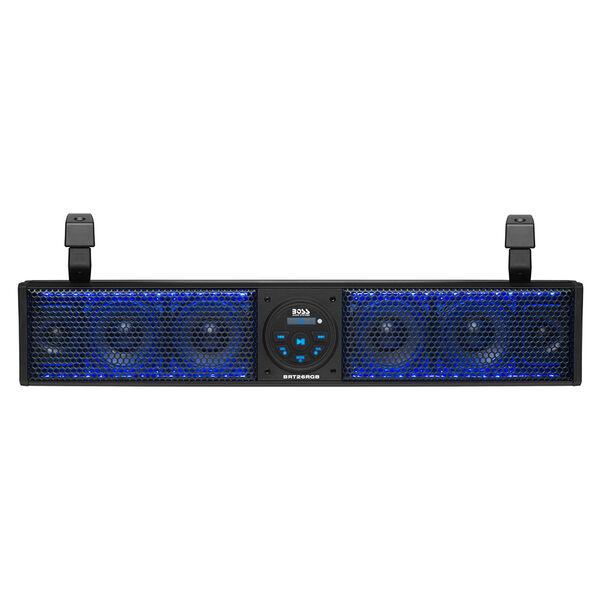 Boss Audio BRT18RGB Bluetooth Amplified ATV/UTV Sound Bar Audio System