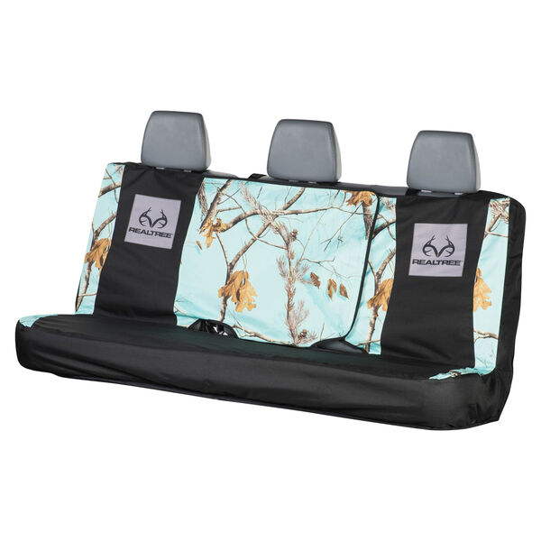 Realtree Full-Size Bench Seat Cover, AP Cool Mint Camo