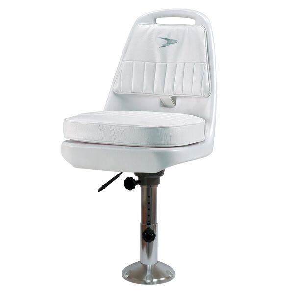 Wise Standard Pilot Chair With Adjustable Pedestal, Slide Mounting Plate