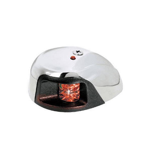 Attwood LED Deck-Mount Port Light With 1 NM Visibility, Red