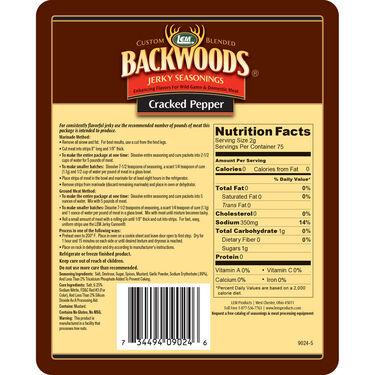 LEM Backwoods Cracked Pepper Jerky Seasoning, 5 lbs.