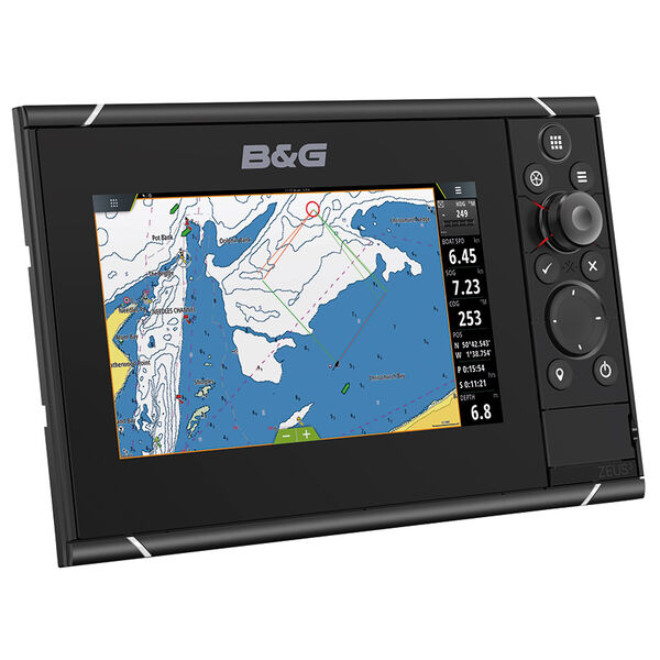 "B&G Zeus 3 7"" Multifunction Display With Insight Charts"