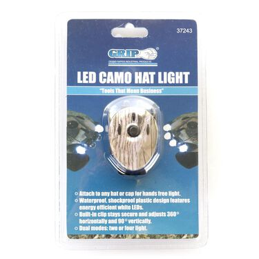LED Camo Hat Light