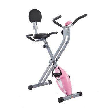 Folding Recumbent Bike, Pink