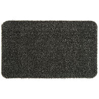 "GrassWorx Clean Machine Flair Doormat, 18"" x 30"", Flint"